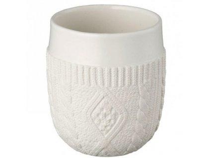 Kinto - dvoustěnný termohrnek COUTURE knit