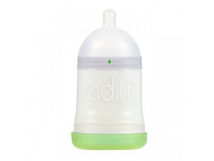 Adiri kojenecká lahev Nuser 0-3m 163 ml bílá