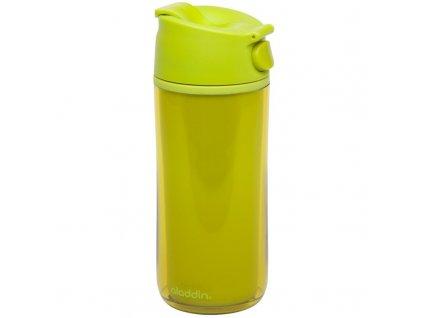 Aladdin - termohrnek FLIP & SIP 350 ml plastový limetkový - 1