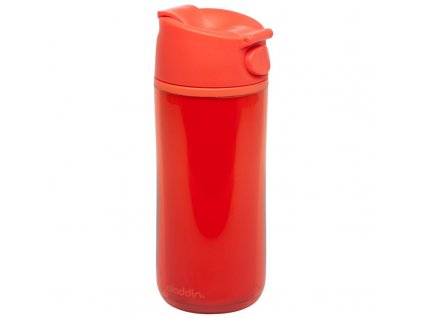 Aladdin - termohrnek FLIP & SIP 350 ml plastový červený - 1