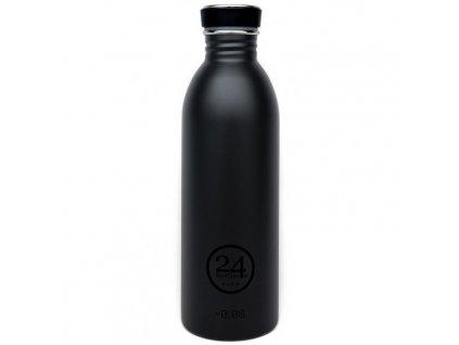 24Bottles - nerezová lahev Urban Bottle 500 ml Black