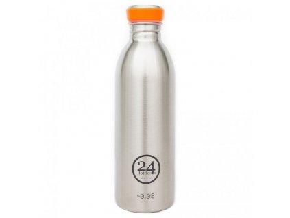 24Bottles - nerezová lahev Urban Bottle 500 ml Steel
