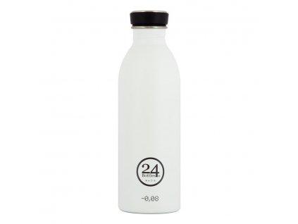 24Bottles - nerezová lahev Urban Bottle 500 ml White