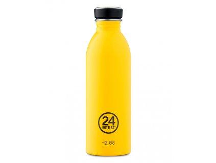 24Bottles - nerezová lahev Urban Bottle 500 ml Yellow