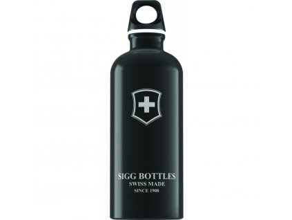 Lahev SIGG Swiss Emblem Black 600 ml