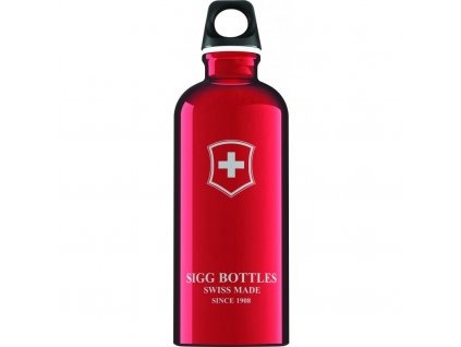 Lahev SIGG Swiss Emblem Red 600 ml