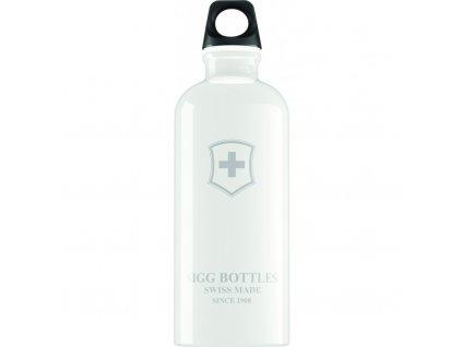 Lahev SIGG Swiss Emblem White 600 ml