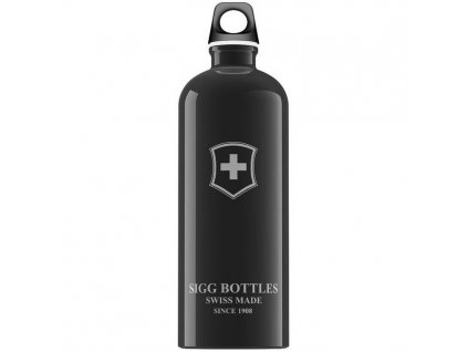 Lahev SIGG Swiss Emblem Black 1000 ml
