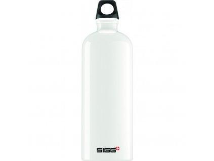 Lahev SIGG Traveller White 1000 ml bílá