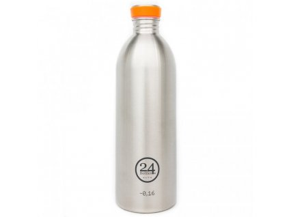 24Bottles - nerezová lahev Urban Bottle 1000 ml Steel