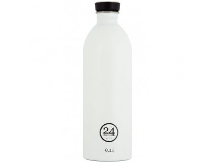 24Bottles - nerezová lahev Urban Bottle 1000 ml white