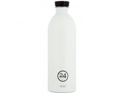 24Bottles - nerezová lahev Urban Bottle 1000 ml white