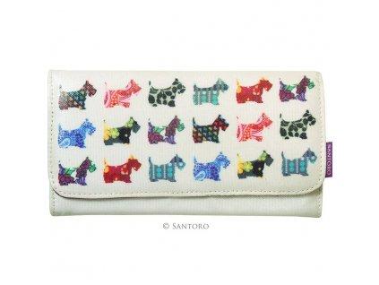 SANTORO - peněženka SCOTTIE DOGS
