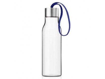 Eva Solo - láhev na pití s modrým poutkem 500 ml