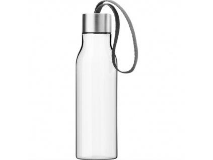 Eva Solo - láhev na pití s šedým poutkem 500 ml