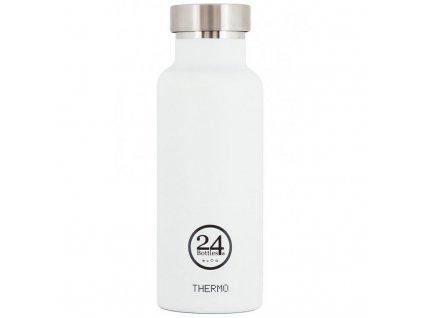 24Bottles - nerezová termolahev Stainless Steel 500 ml ice white 1