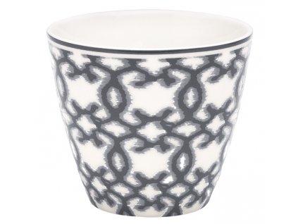 stylový šálek na latté kávu