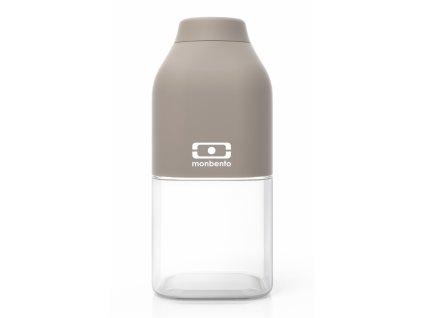 Monbento lahev na pití Positive S grey 0,33l