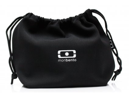 Monbento sáček na svačinový box MB Pochette Black