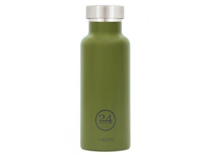 24Bottles - termolahev Stainless Steel 0,5l Dried green 1