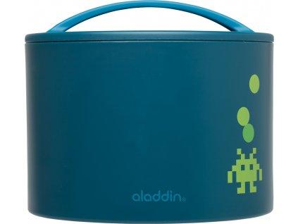 Aladdin - dětský svačinový termobox BENTO 0,6l petrolejový 1