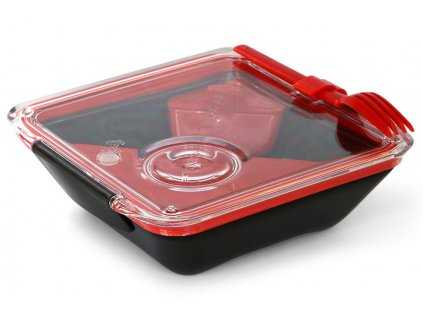 BLACK-BLUM Lunch Box Apetit červený/černý
