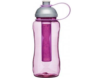 Sagaform - samochladící láhev 520 ml růžová
