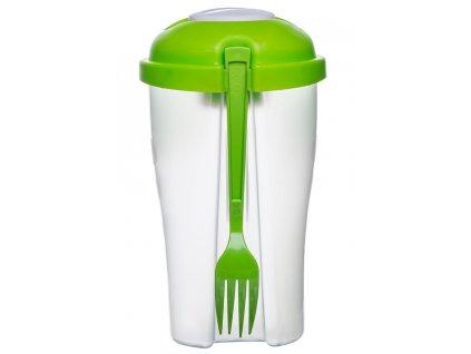 Sagaform nádobka na salát Salad Pot zelená