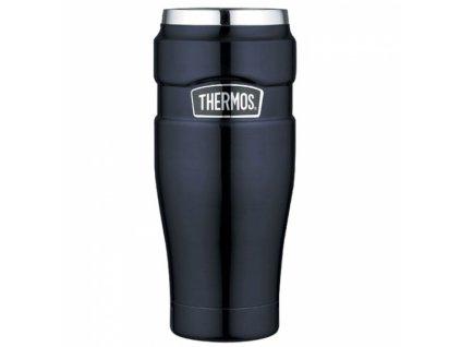 Thermos - nerezový termohrnek 470 ml tmavě modrý
