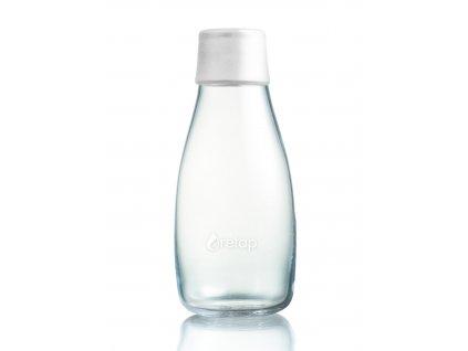 Retap skleněná láhev 0,3l bílá