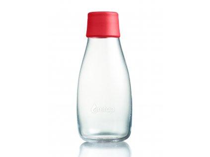 Retap skleněná láhev 0,3l červená