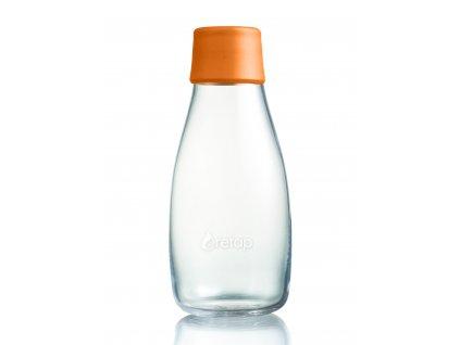 Retap skleněná láhev 0,3l oranžová