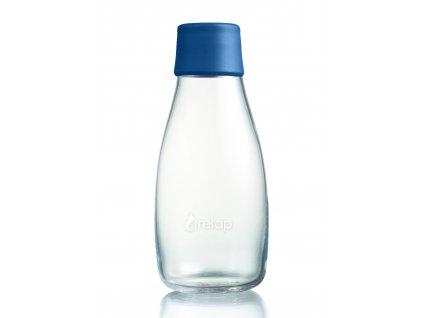 Retap skleněná láhev 0,3l tmavě modrá