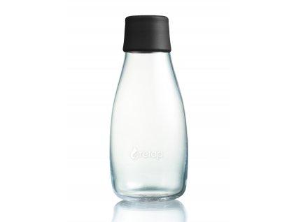 Retap skleněná láhev 0,3l černá