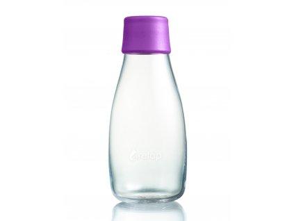 Retap skleněná láhev 0,3l fialová