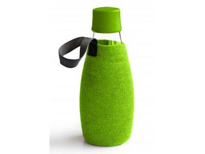 Retap obal na láhev 0,5l zelený úplet
