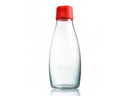 Retap skleněná láhev 0,5l červená