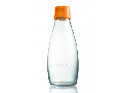 Retap skleněná láhev 0,5l oranžová