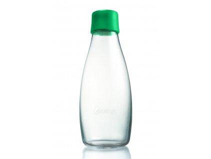 Retap skleněná láhev 0,5l tmavě zelená