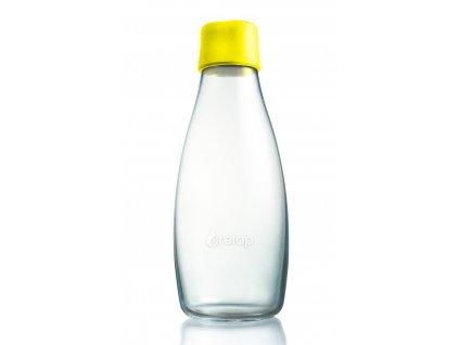 Retap skleněná láhev 0,5l žlutá
