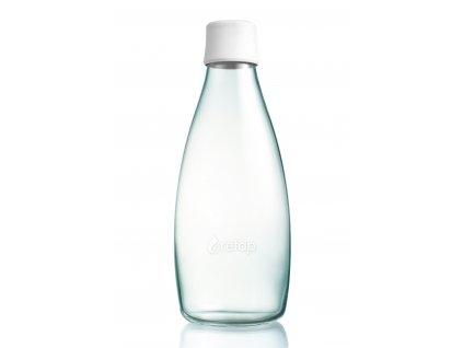 Retap skleněná láhev 0,8l bílá