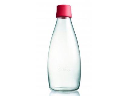 Retap skleněná láhev 0,8l malinová