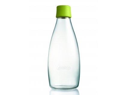 Retap skleněná láhev 0,8l světle zelená