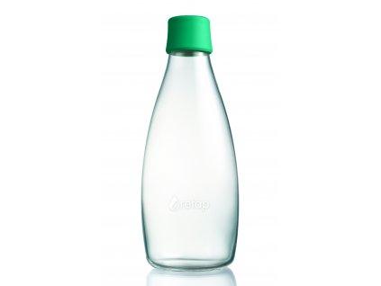 Retap skleněná láhev 0,8l tmavě zelená
