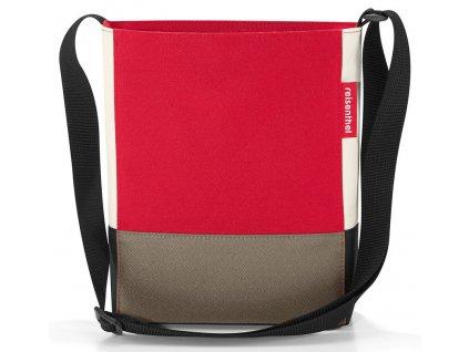 Reisenthel taška přes rameno Shoulderbag S Patchwork Red