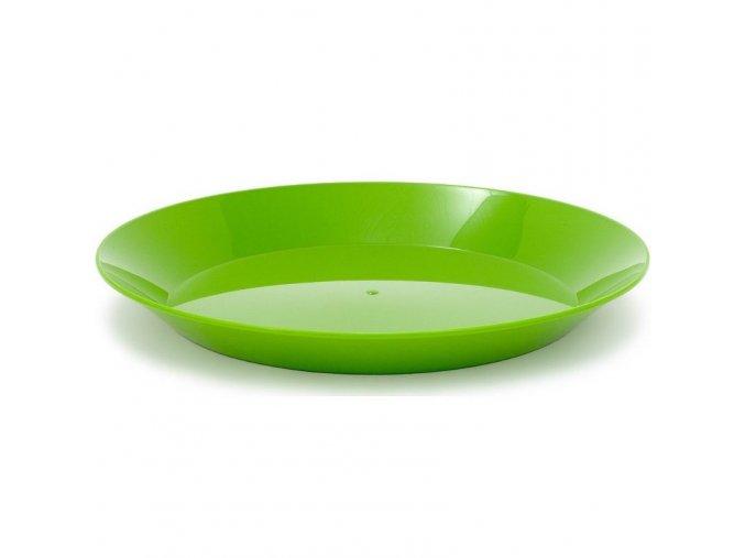 GSI Outdoors plastový talíř Cascadian Plate zelený