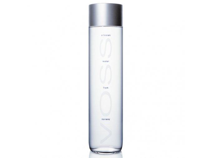 VOSS neperlivá voda 375 ml v designové skleněné lahvi