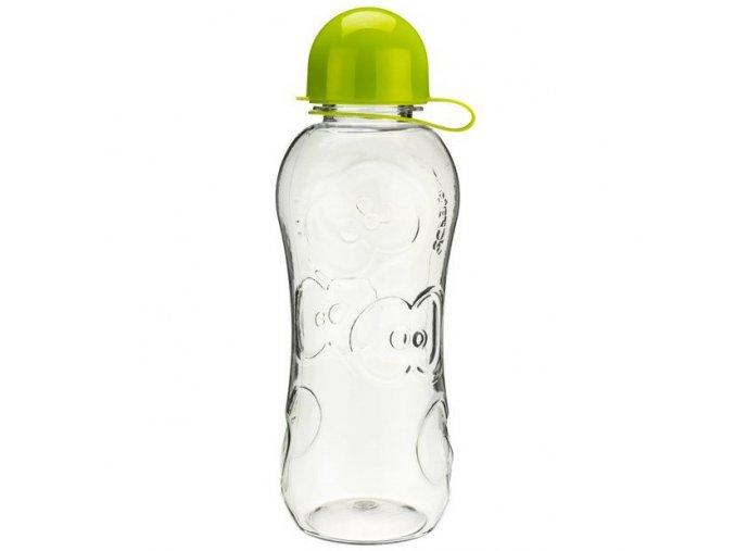 FRUITFRIENDS hydratační lahev na vodu čirá 500 ml