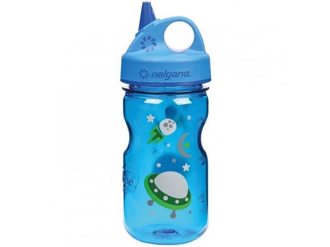 NALGENE - dětská láhev Grip'n Gulp 375 ml Space