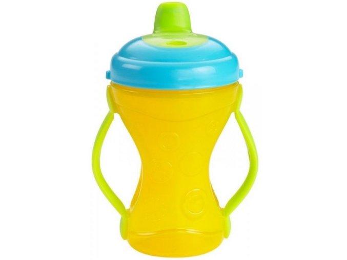 Fisher-Price - cestovní hrníček s měkkým pítkem 6+ žlutý